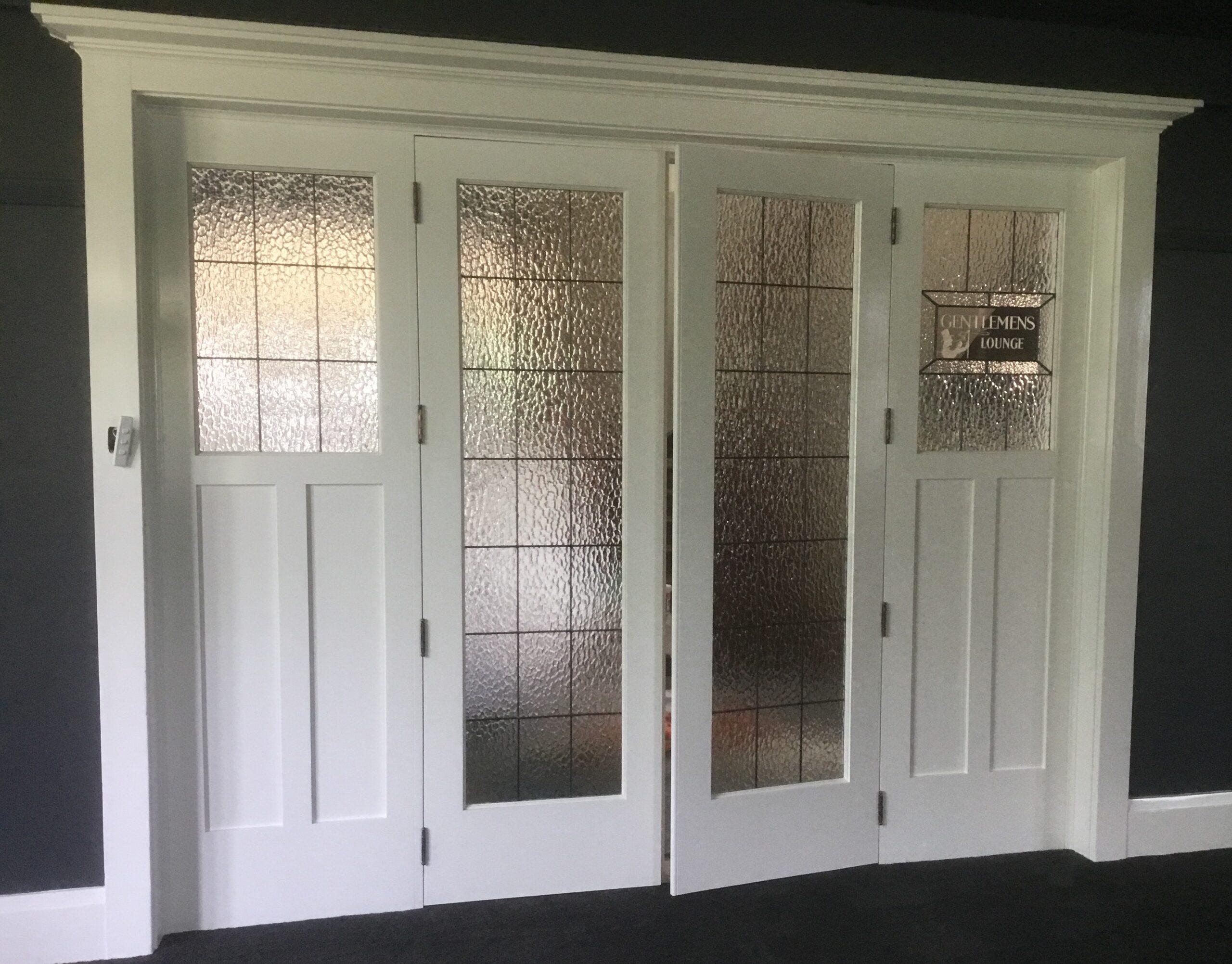 Internal feature doors