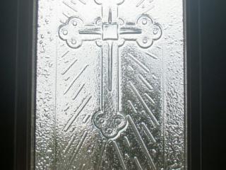 Church Window slumped glass art
