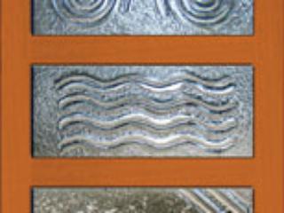 Sample Panel slumped glass art
