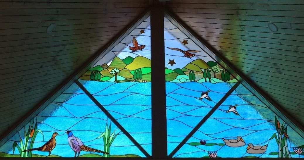 custom leadlight window